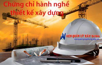 hành nghề thiết kế xây dựng