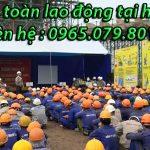 khóa học an toàn lao động tại Hà Nội chuyên nghiệp nhất