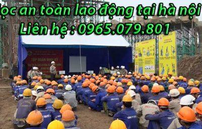học an toàn lao động tại hà nôi
