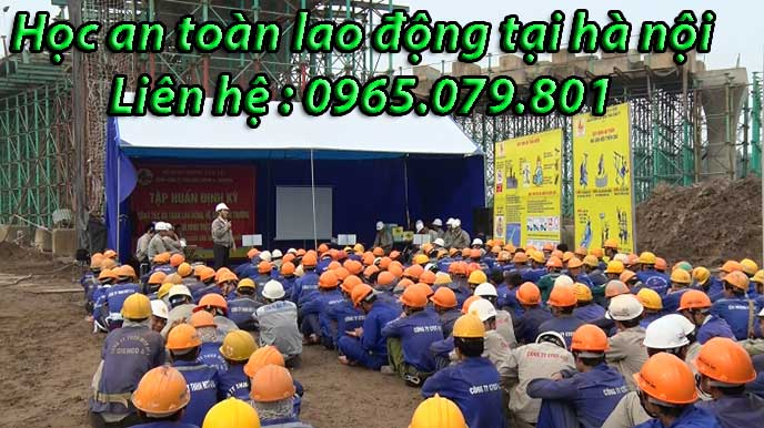 học an toàn lao động tại hà nội