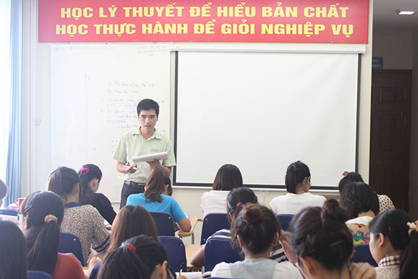 Viện quản lý xây dựng thường xuyên khai giảng lớp học chứng chỉ bồi dưỡng kế toán trưởng