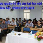 học quản lý dự án tại hà nội chuyên nghiệp uy tín nhất