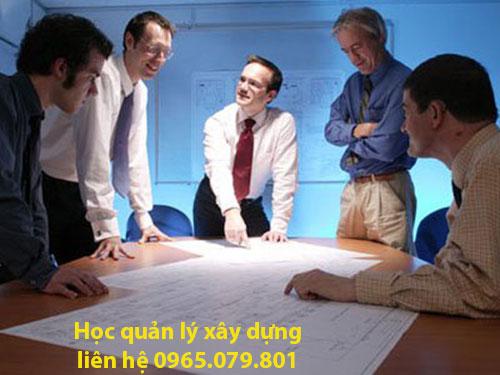 học quản lý xây dựng tại hồ chí minh