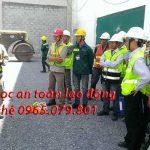 Học an toàn lao động tại tphcm do giảng viên cục an toàn giảng dạy
