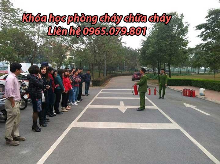 Khóa học phòng cháy chữa cháy tại Hà Nội