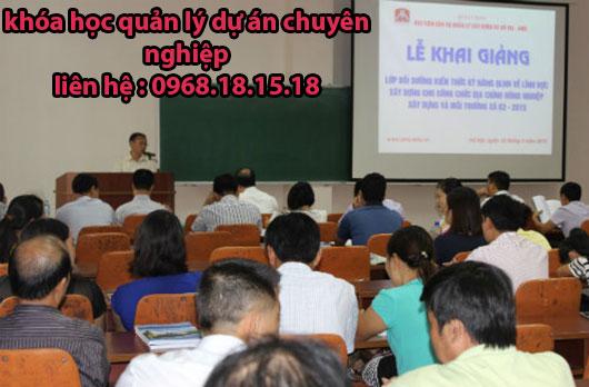 Khóa học quản lý dự án tại tphcm