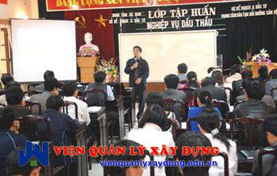 lớp học đấu thầu tại đà nẵng