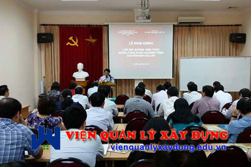 Lớp học đấu thầu tại Hà Nội