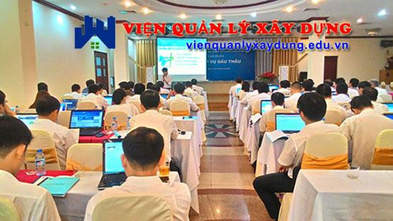 Lớp học đấu thầu tại Hồ Chí Minh