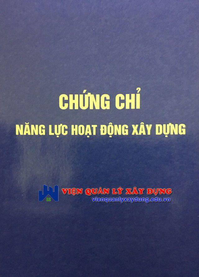Dịch vụ cấp Chứng chỉ năng lực xây dựng tại Đà Nẵng