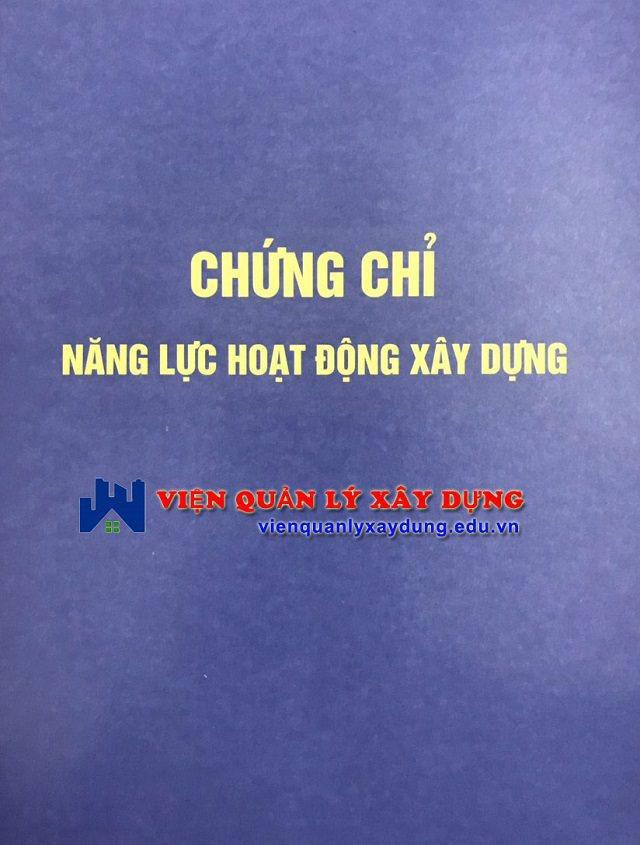 Chứng chỉ năng lực xây dựng tại Nha Trang - Khánh Hòa