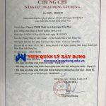 Dịch Vụ Cấp Chứng Chỉ Năng Lực Xây Dựng Tại Đồng Nai