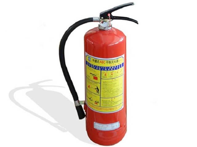 Ảnh minh họa một bình cứu hỏa thông dụng.