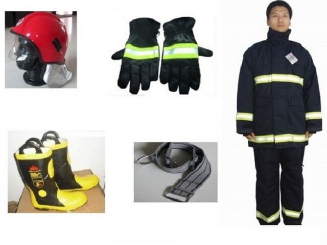 Bộ đồ cứu hộ của các chú lính cứu hỏa.