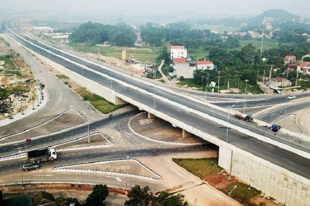 Hệ thống cao tốc đồ sộ tại tỉnh Quảng Ninh.