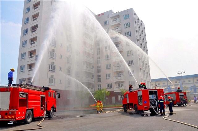 Quy định phòng cháy chữa cháy tòa nhà