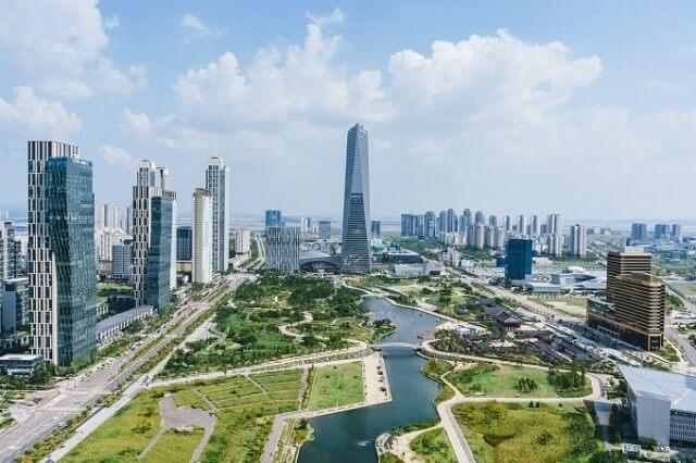 """Quy hoạch thành phố """"trong mơ"""" tại Hàn Quốc."""